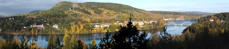 Vy över Nolbykullen, hösten 2004. Foto: WebbMera, Viola Högberg