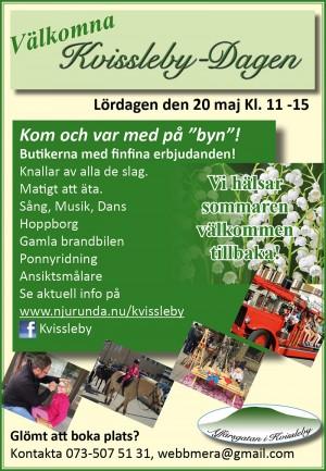 KvisslebyDagen program 2017