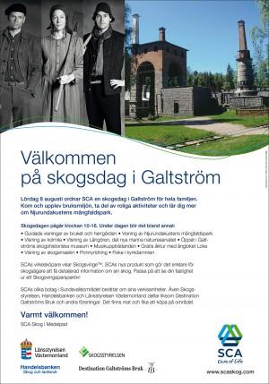 SCA Skogsdag Galtström